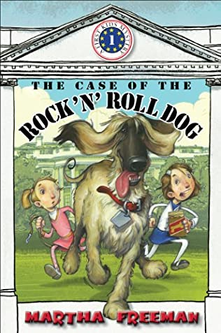 book cover of The Case of the Rock \'n\' Roll Dog