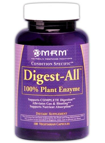 MRM Digest-All Condition spécifiques gélules végétales, 100-Count Bouteilles