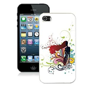 Customized Cute Iphone 5/5s White Case Cover Cheap Cartoon Charactor Design Cellphone Protector by Maris's Diary