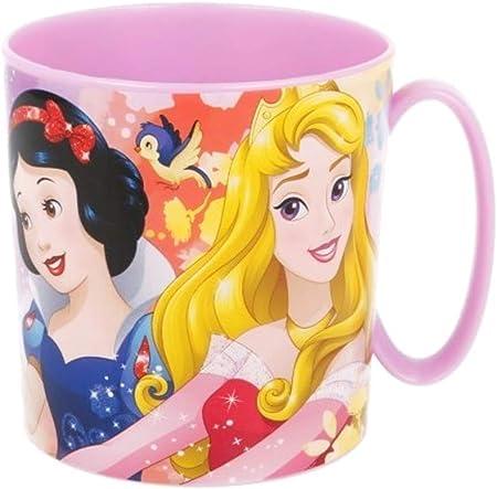 Theonoi Taza de plástico 350 ML a Elegir: Minnie – Princess ...