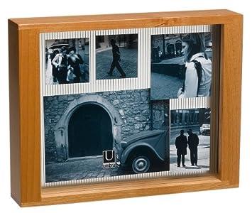 Umbra-éther bois 8 x 26,7 cm Multi-couche Cadre Photos flottant ...