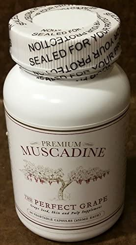 Premium Muscadine Grape Seed Skin Pulp