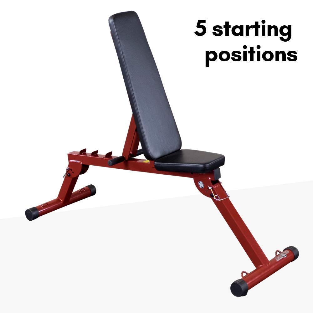 Best Fitness Flat Incline Decline Bench BFFID10
