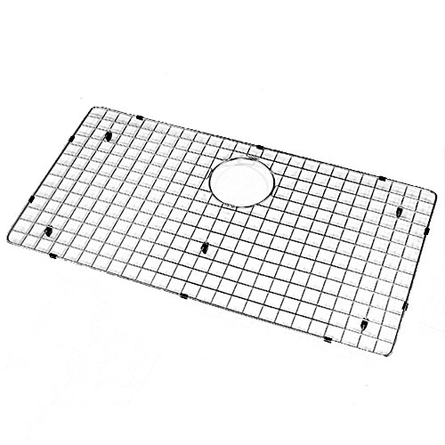 Stainless Wire Bottom Grid - Houzer BG-4320 Wirecraft Kitchen Sink Bottom Grid, 29.5-Inch by 15.5-Inch