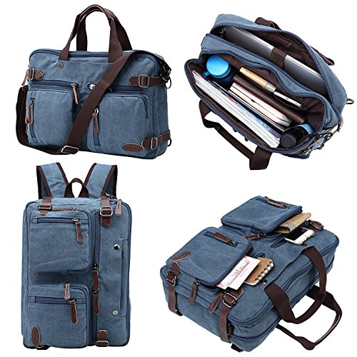 Travel Outdoor Computer Backpack Laptop bag big (darkblue) - 1