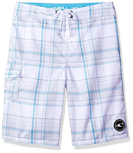 ONeill Boys Santa Plaid Boardshort