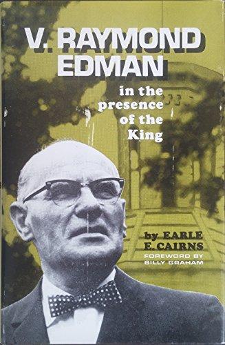 V. Raymond Edman: in the presence of the king,