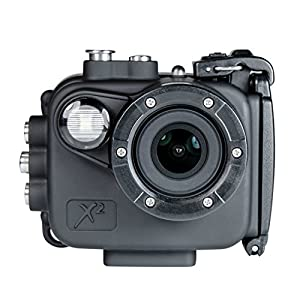 Intova X2 Waterproof 16MP Action Camera with Built-in 150-Lumen Light and WiFi