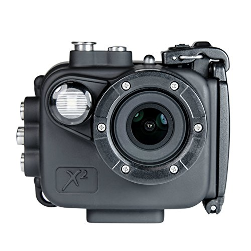 Intova X2 Waterproof 16Mp Action Camera With Built In 150 Lumen Light And Wifi