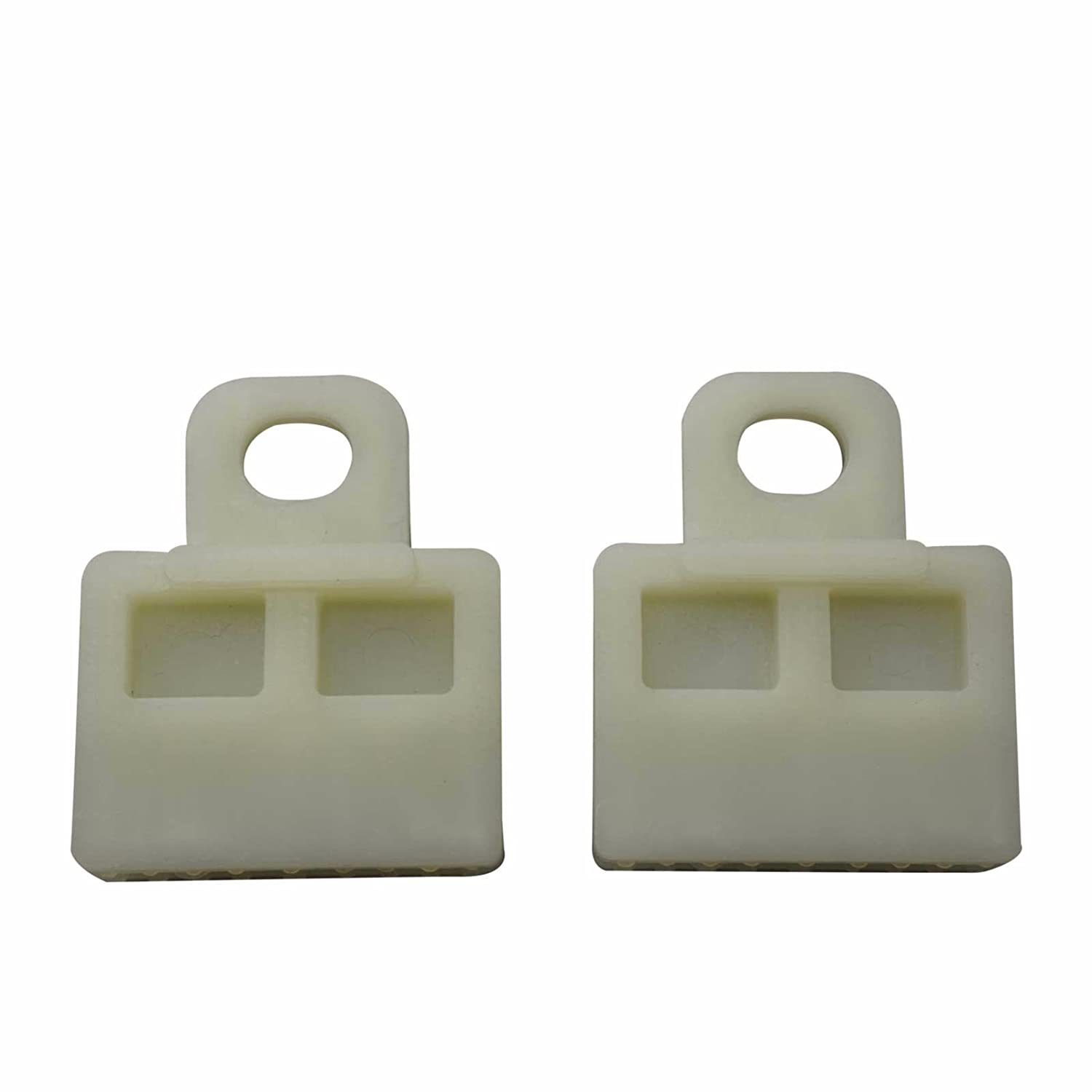 Bross BWR5019 2 Pieces Window Regulator Glass Channel Slider Sash Connector Clips for Toyota Bross Auto Parts