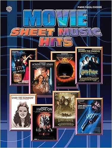 Movie Sheet Music Hits Pianovocalchords Hal Leonard Corp