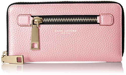 Marc Jacobs Gotham Standard Continental Wallet, Pink Fleur, One - Jacobs Pink Marc