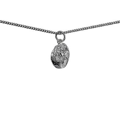 "Sterling Silver Edinburgh Castle Pendant with 18/"" Silver Chain /& Box"