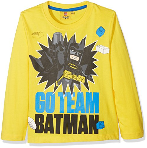 (LEGO Batman Tshirts L/S (5 Years) Yellow)