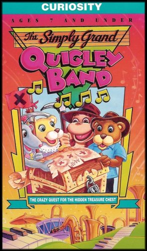 (The Simply Grand Quigley Band - The Crazy Quest for the Hidden Treasure Chest (Christian Tool to Help Teach Lessons and Values - Curiosity) [Ages 7 and Under])
