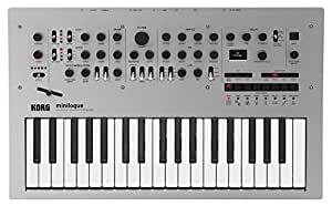 Korg Minilogue 4-Voice Polyphonic Analog Synth with Presets (MINILOGUE)