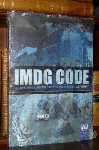 Imdg Code: International Maritime Dangerous Goods Code: Incorporating Amendment 33-06