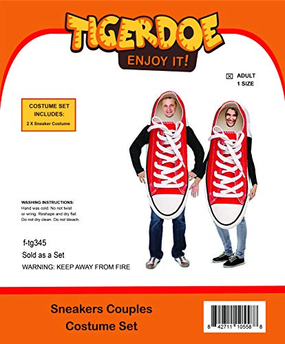 Halloween Sneaker Couple Costume