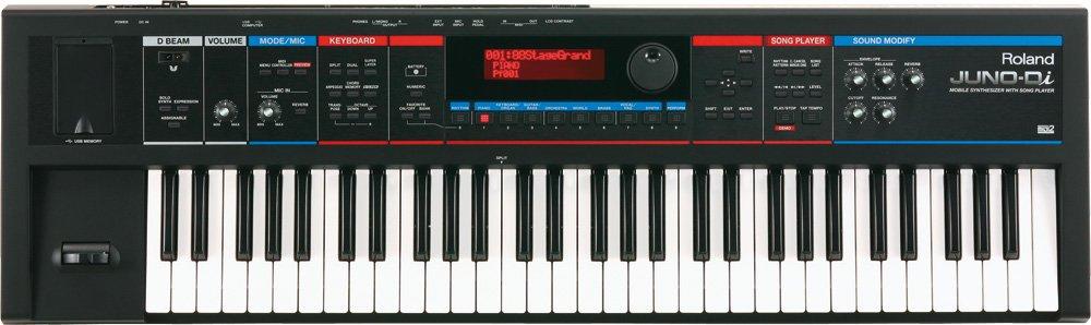Roland ローランド モバイルシンセサイザー with Song Player JUNO-Di ブラック   B002D111J8