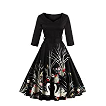 Babyonlinedress® Short Vintage Wedding Guest Dresses for Women Special Occasion