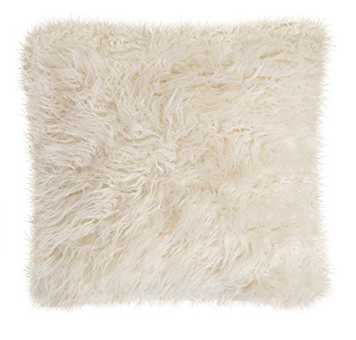 Carstens Sheep Skin Faux Fur Pillow (Sheep Faux Skin)