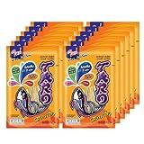 TARO Fish Snack Bar-b-q Flavour 6G. (12 Packs) Thai Food No Fat High