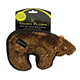 Hyper Pet Tough Plush Brown Bear Durable Dog Toy with Squeaker