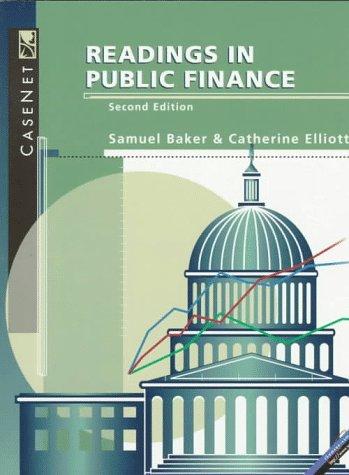 Readings in Public Finance