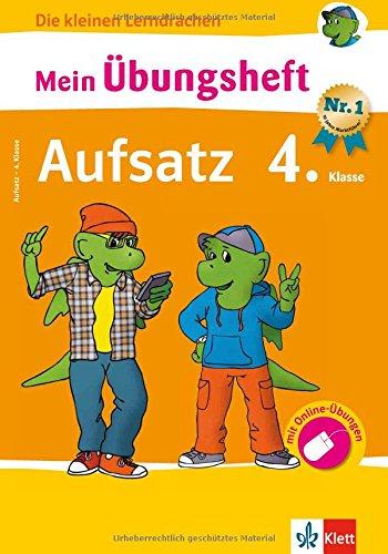 Klett Mein übungsheft Aufsatz Deutsch 4 Klasse Grundschule