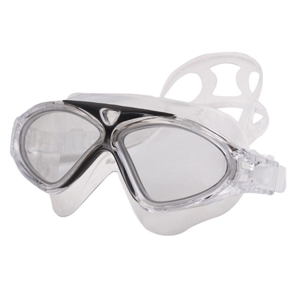 ❤️Jonerytime❤️Swimming Goggles for Men Women and Fashion Sports Children Swim Eyeglasses (Black)