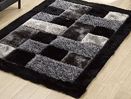 Global Home Brand New Hand Loom Modern Stone 5D Shaggy Rugs And Carpets