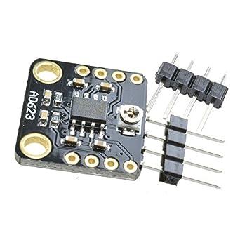 ad623 ganancia programable digital módulo de potenciómetro amplificador de instrumentación