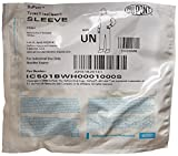 Dupont IC501BWH0001000S Tyvek IsoClean Sleeve, Sterile, Universal, White (Pack of 100)