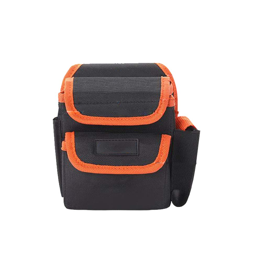Bolsa de herramientas multifuncional de tela Oxford taladro el/éctrico Mantenimiento del organizador del bolso bolsa de herramientas con cintur/ón de cintura Heavy Duty 3016 Bolsa Estilo 1 Pc