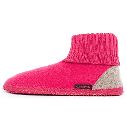 Stivaletto Giesswein Kramsach Donna rubin Rosa A Pantofole SUCtF