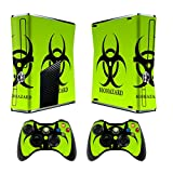 Cheap Skin for Xbox 360 Slim Sticker Decals for X360 Custom Cover Skins for Xbox360 Slim Modded Console Game Accessories Set Decal Stickers 2 Remote Controllers – Biological Harzard