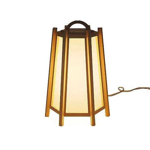 Wvfguj Lámparas de Escritorio De Estilo japonés lámpara de Mesa ...
