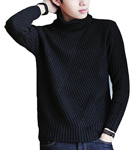 Turtle Casual Sleeve 9 Long Men's amp;W Neck Half M amp;S Pullovers Sweater wgq1w4Y
