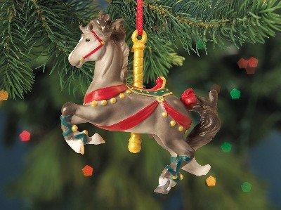 Breyer Horses 2012 Holiday Prancer Carousel Horse Ornament Melody