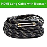 Million High Speed Prime Long HDMI Cable 160 Feet with Ethernet Built in Signal Booster-Supports 3D,1080p,-for In-wall Installation