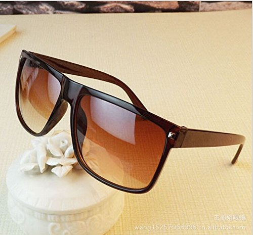 365Cor(TM)2015 Fashion Sun Glasses For Men, Wholesale Cheap Sunglasses Male Brand Retro Rivet Square Points Black Brown Leopard - Wholesale Cheap Sunglasses