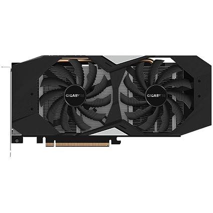 Gigabyte GeForce GV-N166T Tarjeta gráfica GTX 1660 Ti WindForce 6G, 6144 MB GDDR6