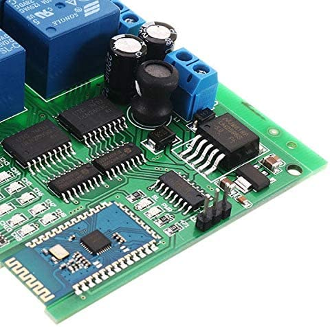 Nrthtri smt DC 12V 16 Channel Bluetooth Relay Board Wireless Remote Control Switch for Android Phones with Bluetooth Functions Computer Components