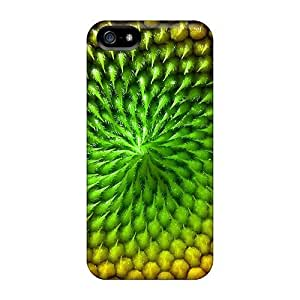 For Iphone 5/5s Tpu Phone Case Cover(yellow Green)