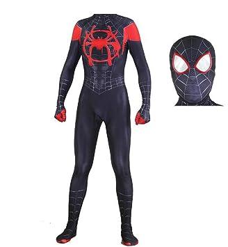 TOYSGAMES Traje de Cosplay de Spiderman Adulto Halloween ...