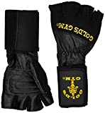Best Gold's Gym Gloves Gyms - GOLD'S GYM Wrist Wrap Lifting Glove , L Review