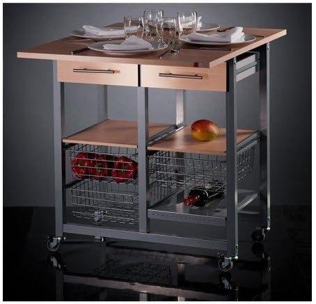 DON HIERRO - Mesa cocina plegable verdulero MILENIUM: Amazon.es: Hogar