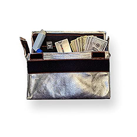Amazon.com: Insulated Fireproof Bag Pouch (dinero Storage ...