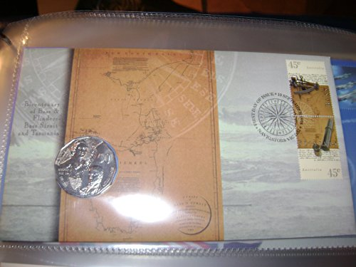 Bicentenary on Bass and Flinders Numismatic Cover (Australian Mail)