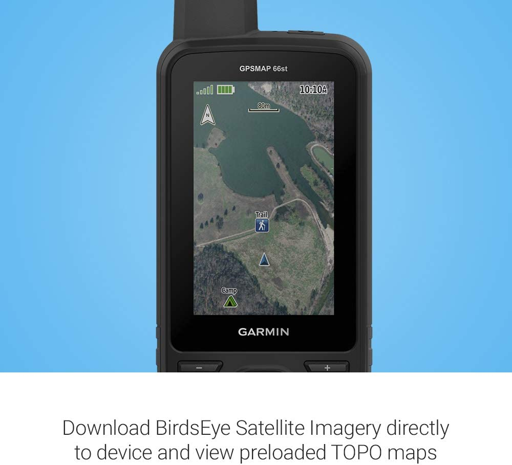 Garmin GPSMAP 66st, robusto multisatélite de mano con sensores y mapas Topo, pantalla a color de 3 pulgadas: Amazon.es: Electrónica